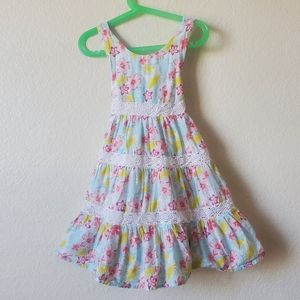 Tommy Bahama Girls Summer Floral Dress